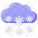 Snow Cloud Icon