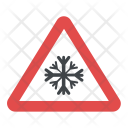 Snow-covered Road Icon