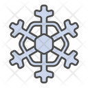Winter Crystal Snow Icon