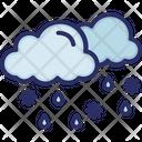 Clouds Weather Rain Icon