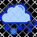 Snow Fall Cloud Snow Icon