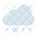 Snow Cloudy Cloud Icon