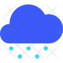 Snow Fall Weather Cloud Icon