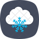 Snow Cloudy Weather Icon