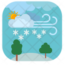 Snow Forest Icon