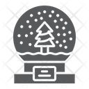 Snow Globe Christmas Icon
