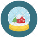Snow Globe Crystal Icon