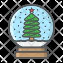 Snow Globe Ball Icon