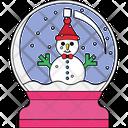 Snow Globe Water Globe Snow Storm Icon