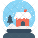 Snow Globe Waterglobe Icon