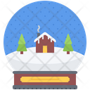 Snow Ball Christmas Icon
