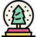 Snow Globe Ornament Icon