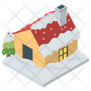 Snow House Roof Snow Snow Home Icon