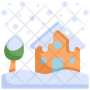 Snow House Natural Disaster Icon