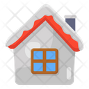 Winter House Snow House Snow Home Icon