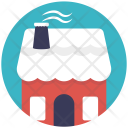 Snow House Christmas Icon