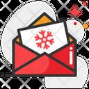 Snow Mail Correspondence Address Icon