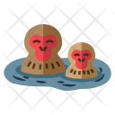 Snow monkey resorts Icon