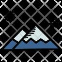 Snow Mountain Winter Icon