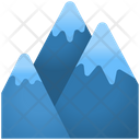 Snow Mountain Nature Snow Icon