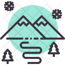 Mountain Scenery Competition Icon