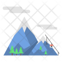 Snow Mountain Vacation Icon