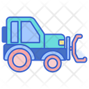 Snow Plow Winter Snowing Icon