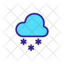 Heating Coolung Snow Icon
