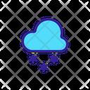 Snow Rain Icon