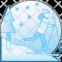 Ski Sports Sports Accessory Icon