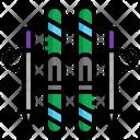 Ski Snow Winter Icon