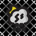 Moon Night Cloud Icon