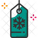 Tag Shopping Winter Icon