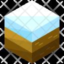 Snow Terrain Soil Icon