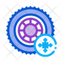 Snow Tires Icon