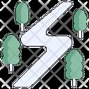 Snow Track Icon