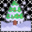 Snow Tree Icon