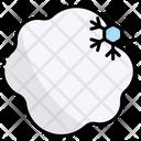Snowball Snowflake Weather Icon