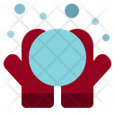 Snowball Ice Ball Winter Icon