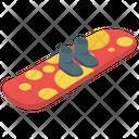 Snowboard Skateboard Ice Skating Icon