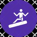 Snowboard Fun Recreation Icon