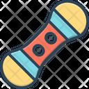 Snowboard Adventure Downhill Icon