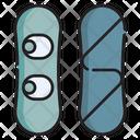 Snowboard Icon