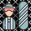 Snowboarder Icon