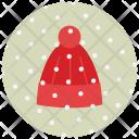 Beanie Winter Snow Icon