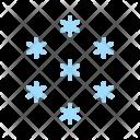 Snowfall Snow Weather Icon