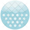 Hail Cloud Weather Icon