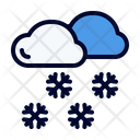 Snowfall Winter Blizzard Icon