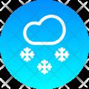Snowfall Snow Winter Icon