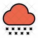Snowflake Cloud Clouds Icon